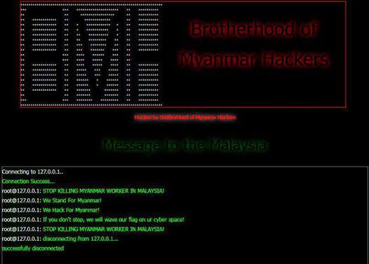 BROTHERHOOD OF MYANMAR HACKERS