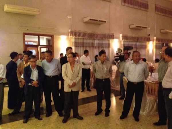 Vice President'Dinner Yadanartheinkha Hotel Naypyitaw 10.6.13