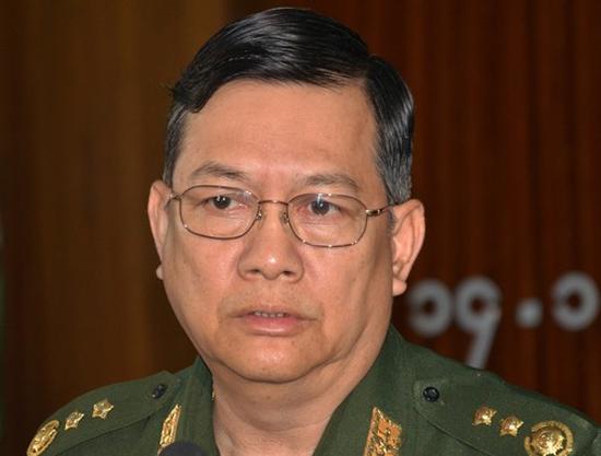 Lt Gen Ko Ko, Myanmar Home Affairs Minister (Photo: AFP/Hla Hla Htay)