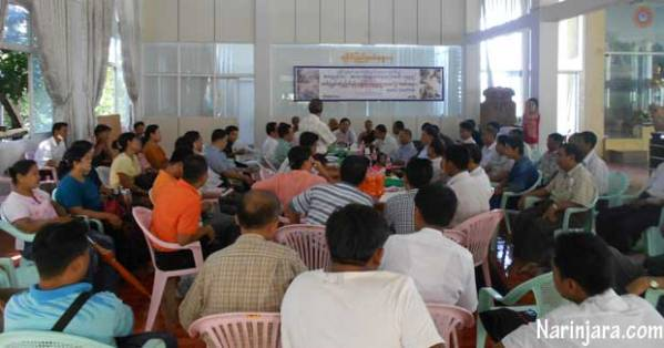 The photo was taken by Narinjara during the meeting held by 21 civil society groups.