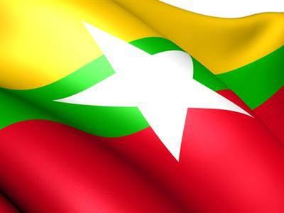 MYANMAR-BURMA FLAG