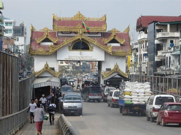 THAI MYANMAR BORDER  MAE SOT