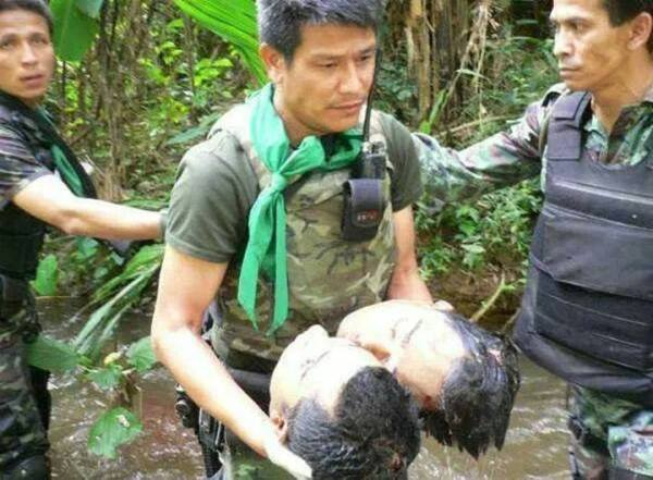 BEHEADED BY RADICAL ISLAMISTS IN SOUTH THAILAND
