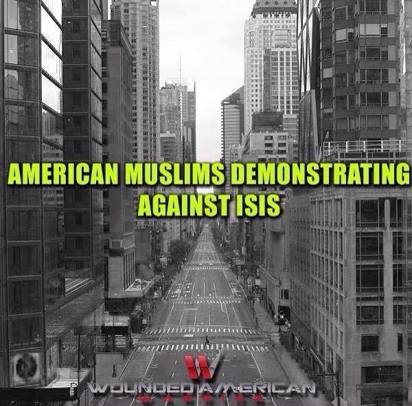 american muslim demonstrate