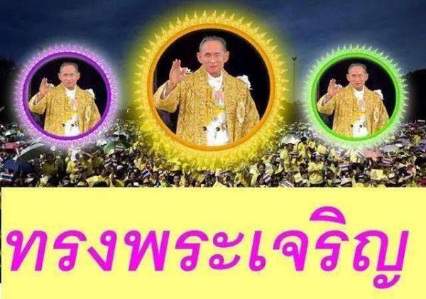 LONG LIVE THE KING OF THAILAND