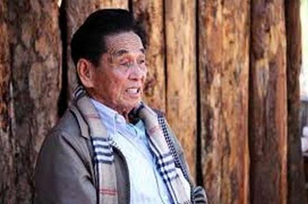 Pheung Kya-shin, chief of the Kokang Special Region in Myanmar