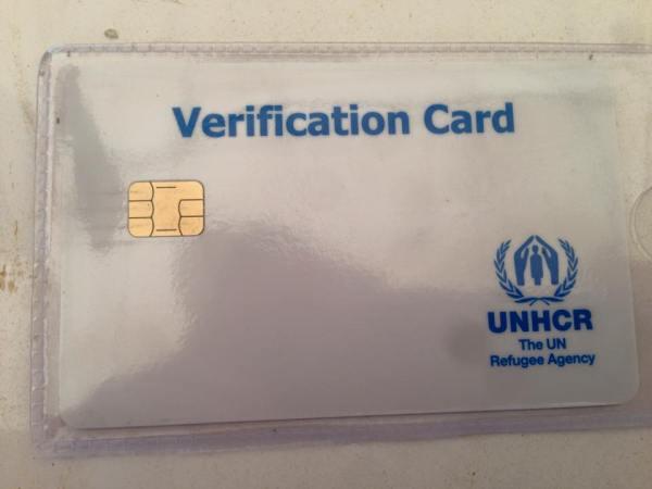 UNHCR ID CARD THAILAND REFUGEE CAMP
